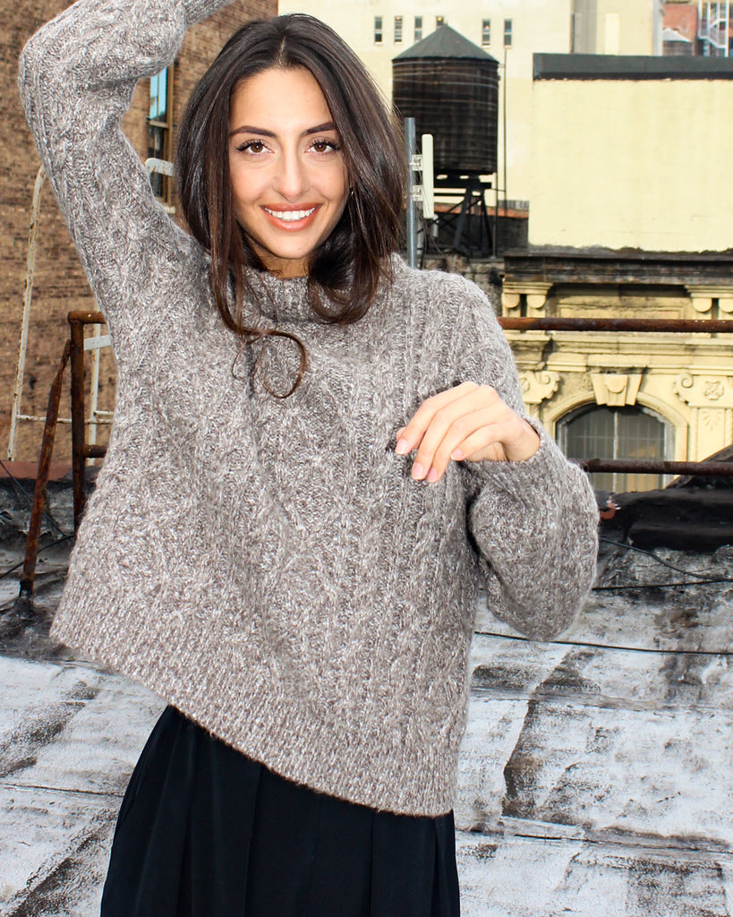 The Noak Sweater in Merino Wool - INGA-LENA