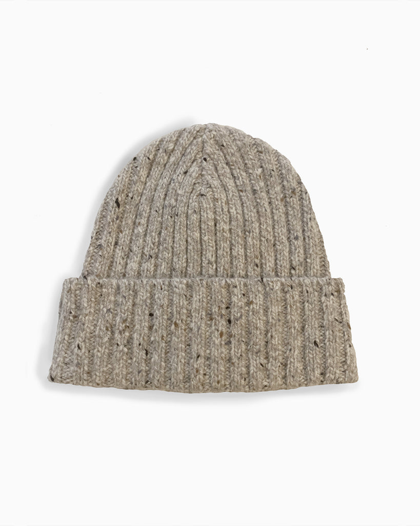 The Caden Beanie in 100% Cashmere