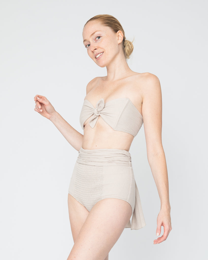 Europe | The Jelena Bikini in Natural Clay