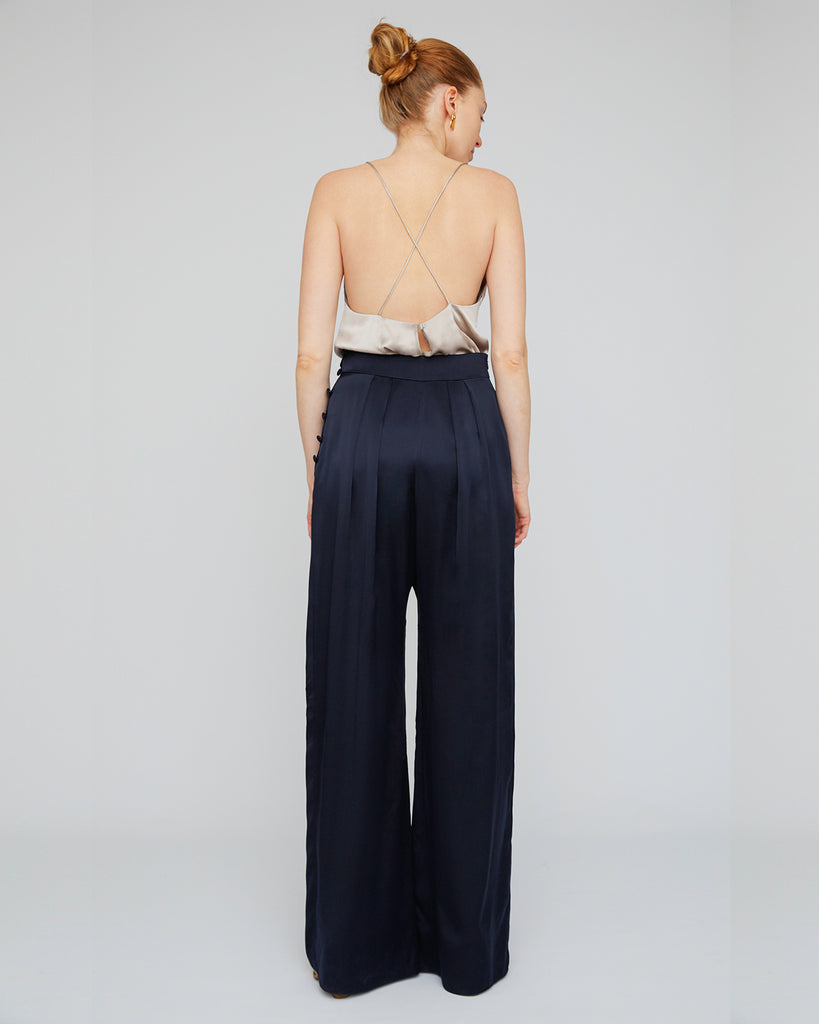 The Bjorn Pant in Midnight Blue - INGA-LENA