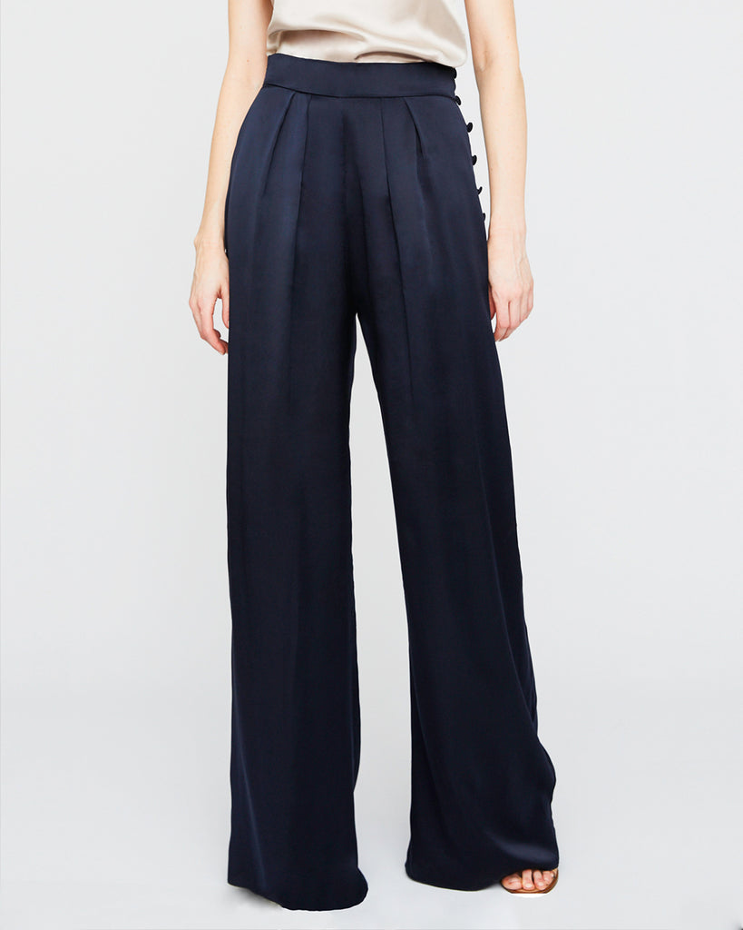 The Bjorn Pant in Midnight Blue