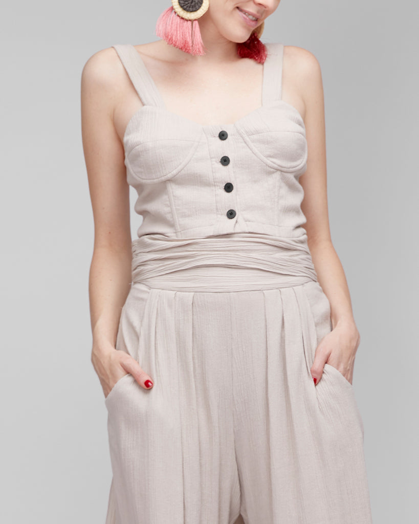 The Jona Bustier in Clay - INGA-LENA