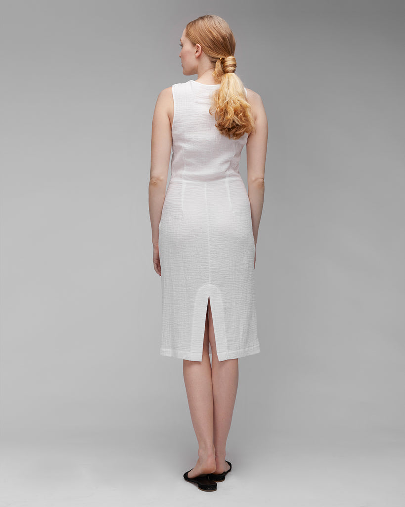 The Dita Dress in Off-White - INGA-LENA