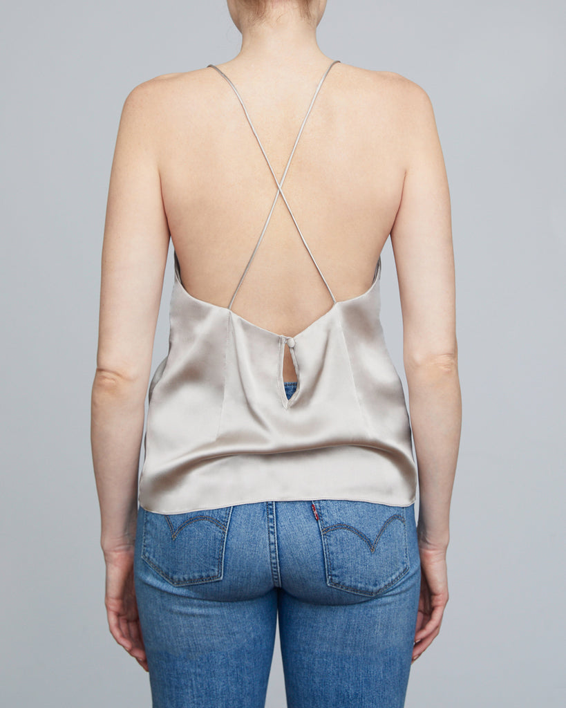 The Fjord Camisole in Shimmery Sand - INGA-LENA