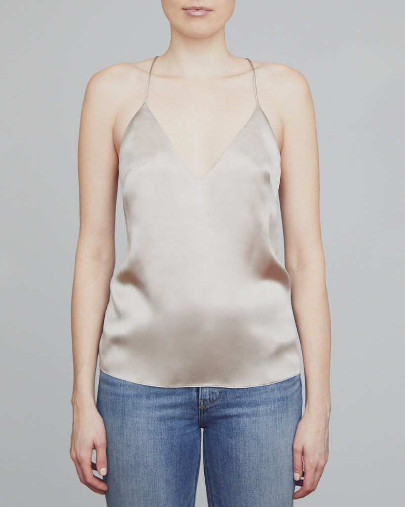 The Fjord Camisole in Shimmery Sand