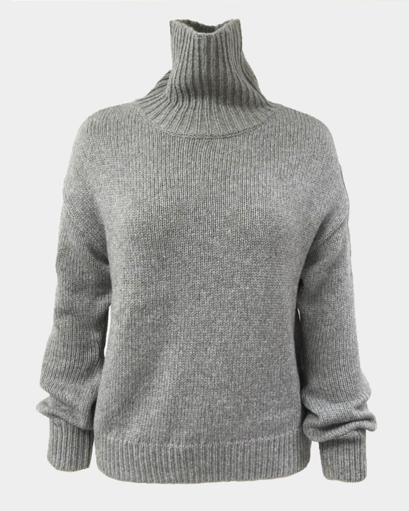 The Jacob Sweater in Pearl Grey