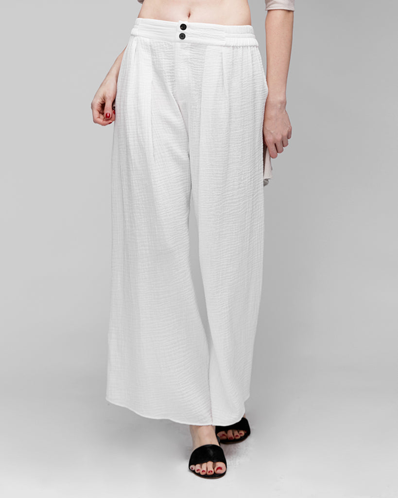The Rigga Pant in Off-White