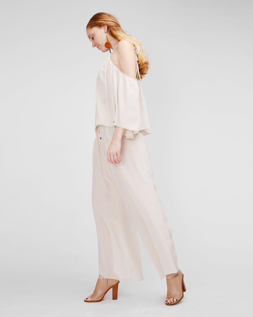 The Ronya Blouse in Blush - INGA-LENA