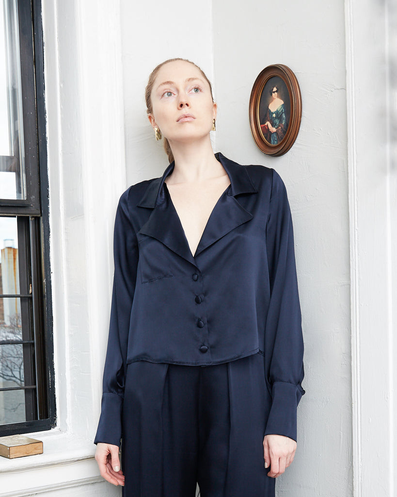 The Soren Blouse - INGA-LENA