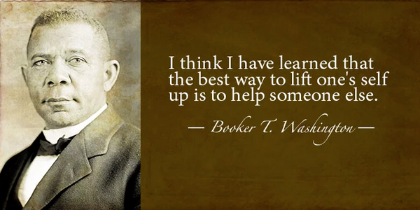 inspirational quote booker washington