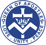 queen of apostles riverton logo