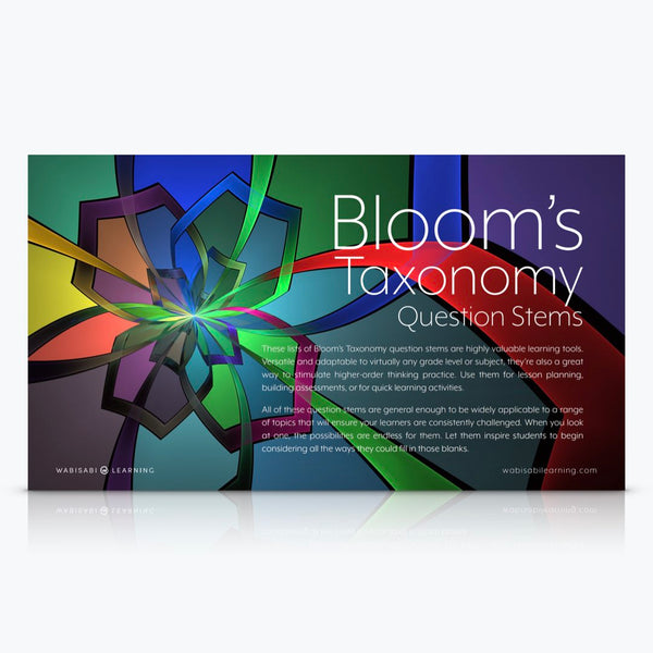 Bloom's Taxonomy Question Stems