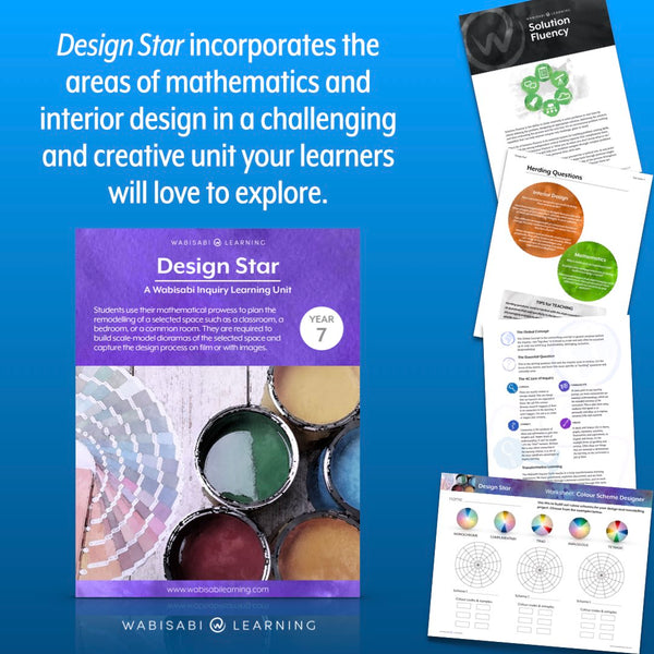"""Design Star"" Inquiry Unit—Year 7"
