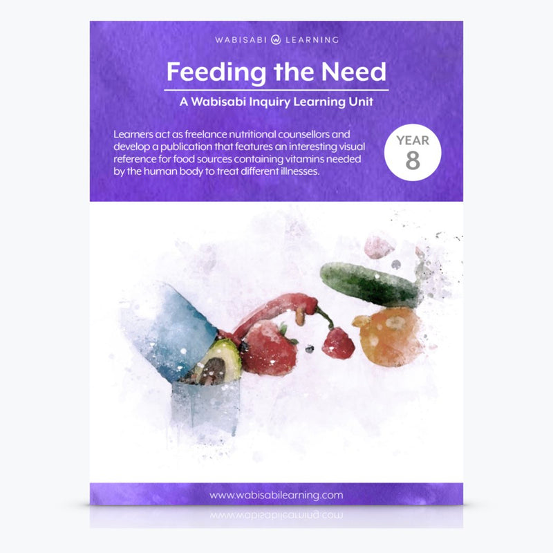 """Feeding the Need"" Inquiry Unit—Year 8"