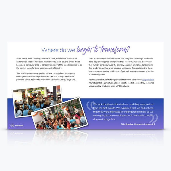 Case Study: Orange Day—Newport Gardens PS Digital Download Wabisabi Learning