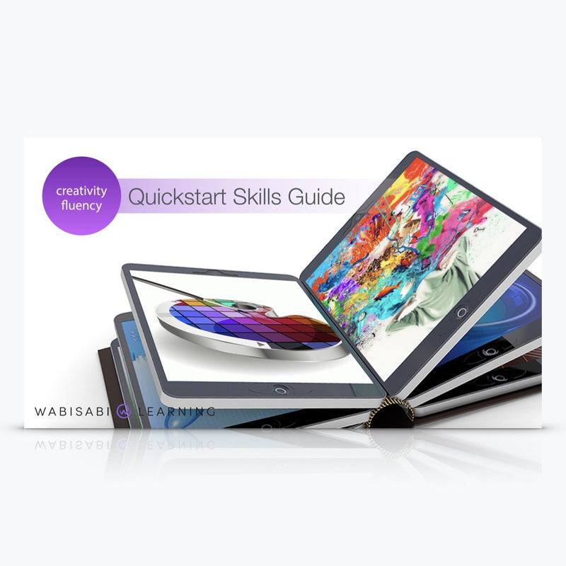Creativity Fluency Quickstart Skills Guide Digital Download Wabisabi Learning