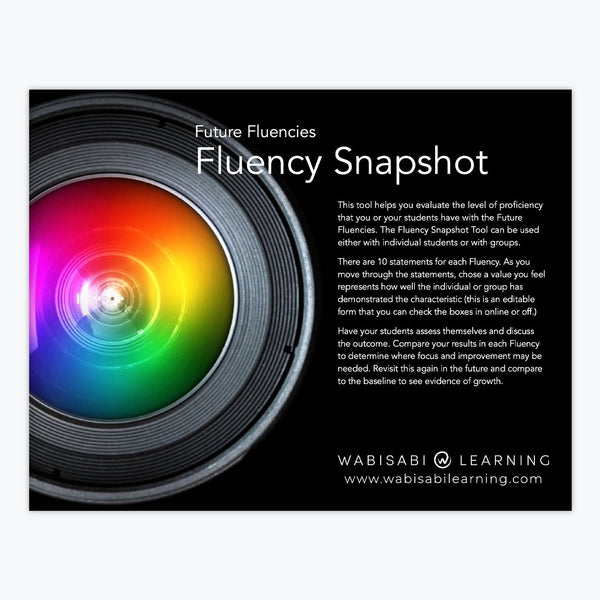 Future Fluency Snapshot Digital Download Wabisabi Learning