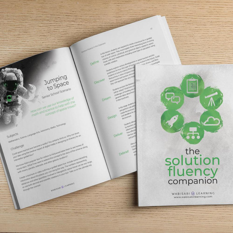 The Solution Fluency Companion Book Wabisabi Learning