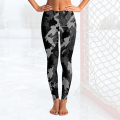 Hockey Camo Leggings