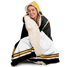 Load image into Gallery viewer, boston hooded blanket