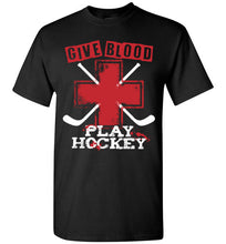 Load image into Gallery viewer, Give Blood Play Hockey