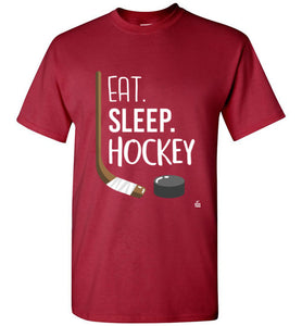 Red Kids Hockey Shirt for Hockey Kids, Hockey Boys and Hockey Girls