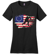 Load image into Gallery viewer, USA Betsy Ross Flag Hockey Shirt