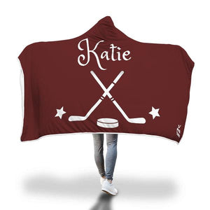 Personalized Hockey Blanket
