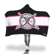 Load image into Gallery viewer, Pink The Rink Hooded Blanket
