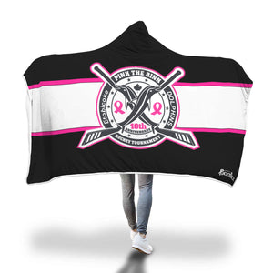 Pink The Rink Hooded Blanket