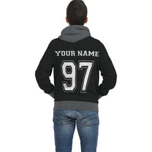 Load image into Gallery viewer, Personalized Hockey Player Inside Print Hoodie