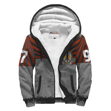 Load image into Gallery viewer, Personalized Sherpa Lined Hoodie - Forward