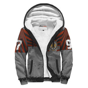 Personalized Sherpa Lined Hoodie - Forward