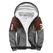 Load image into Gallery viewer, Personalized Sherpa Lined Hoodie - Hockey Player & Goalie
