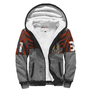 Personalized Sherpa Lined Hoodie - Hockey Player & Goalie
