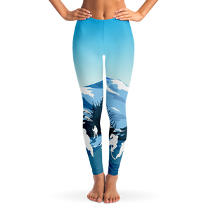 Outdoor Hockey Leggings - Day