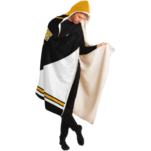 boston hooded blanket