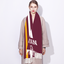 Load image into Gallery viewer, Winter Scarf Cashmere Feel