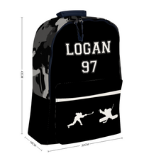 Load image into Gallery viewer, Personalized Shooter/Camo Backpack