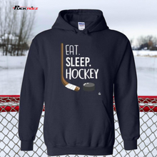 Load image into Gallery viewer, Eat Sleep Hockey Hoodie