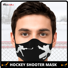 Load image into Gallery viewer, Hockey Shooter Face Mask