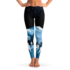Outdoor Hockey Leggings - Night
