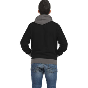 Personalized Hockey Player Inside Print Hoodie