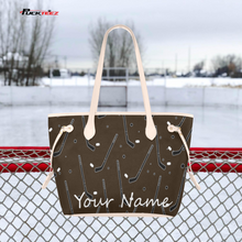 Load image into Gallery viewer, Personalized Hockey Tote Bag