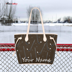 Personalized Hockey Tote Bag