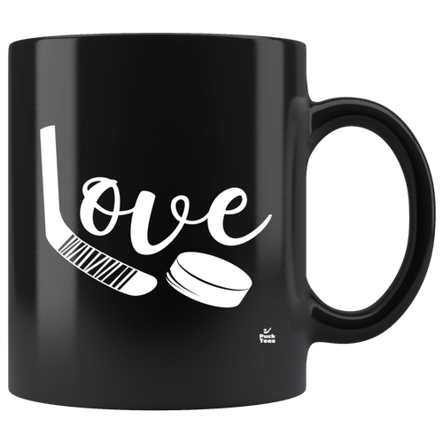 Love Hockey Mug