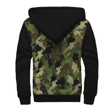 Load image into Gallery viewer, Hockey Camo Sherpa Hoodie