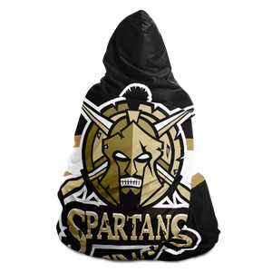 Southern Oregon Spartans Hooded Blanket