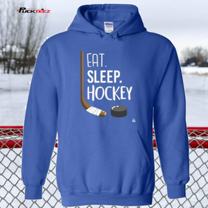 Eat Sleep Hockey Hoodie