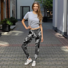 Load image into Gallery viewer, Hockey Camo Leggings - Black